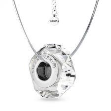 Колие с талисман СБЪДНАТО ЖЕЛАНИЕ от Swarovski® Pave Beads, Код PR N583