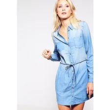 Дамска деним рокля ONLY, тип риза, Размер XL, Код BL403