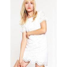 Къса дамска рокля ONLY в кристално бял цвят, Рзамер XS, Код DD126