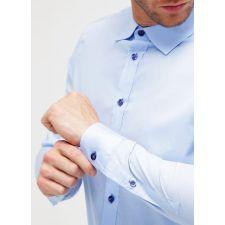 Спортно-елегантна риза PIER ONE с дълъг ръкав, Размер S, Код BL552