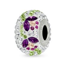 Талисман ВЪЛШЕБНА ГРАДИНА от Swarovski® Pave Beads, Код PR V106
