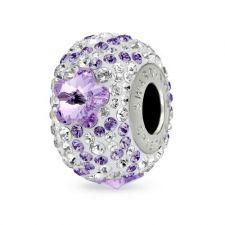 Талисман ЦВЕТЕ НА ЖЕЛАНИЕТО от Swarovski® Pave Beads, Код PR V105