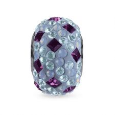 Талисман СЕВЕРНО СИЯНИЕ от Swarovski® Pave Beads, Код PR V107