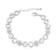 Гривна с кристали Swarovski® TUNE, Crystal  Бял, Код PR B004