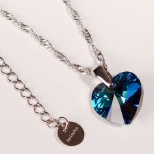 Сет Колиета COLOURS OF LOVE - SWAROVSKI® HEART, 10 мм,  Многоцветни, Код PR S400