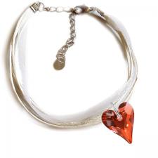 Гривна МАРТЕНИЦА SWAROVSKI® WILD HEART Red Magma**,Червен цвят, Код PR B439B