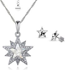Бижута STAR, Колие и Обеци със SWAROVSKI® Crystals, Zerga Brand, ZG S553-B