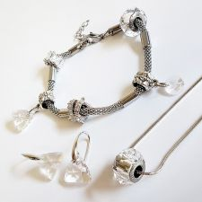 Талисман ВЕЧНО ПРИЯТЕЛСТВО от Swarovski® Pave Beads, Код PR V006