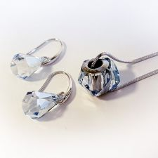 Бижута с талисман КЪСМЕТ ЗА ТЕБ. Колие и Обеци, Swarovski® Pave Beads, Код PR S528