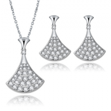 Бижута с кристали SWAROVSKI® ВЕТРИЛО, ZERGA BRAND, Код ZG S431