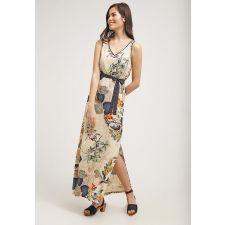 Дълга рокля SMASH! с флорални мотиви, Размер XL, Код DD0129