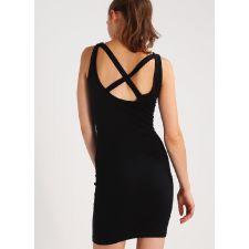 Еластична дамска рокля EVEN & ODD в черно, Размер M, Код DD0090
