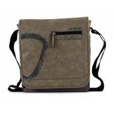 Спортно-елегантна чанта Strellson в масленозелен цвят, Код F174