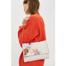 Дамска чанта TOPSHOP в нежен бял цвят, Код F199