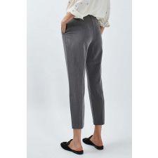 Очарователен панталон TOPSHOP в меко сиво, Размер M, Код TT0026