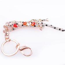 Ключодържател ЛЕОПАРД, Аксесоар за Чанта Колекция UB Boutique #UB K014