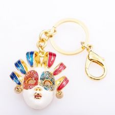 Ключодържател МАСКА, Аксесоар за Чанта Колекция UB Boutique #UB K046