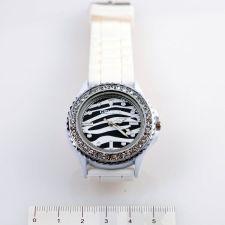 Унисекс ръчен часовник, Силиконова каишка, Бяла, колекция UB Бутик, Код UB W001