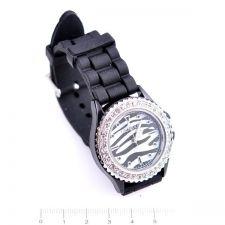 Унисекс ръчен часовник, Силиконова каишка Черна, колекция UB Бутик, Код UB W002