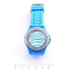 Унисекс ръчен часовник, Силиконова каишка, Синя, колекция UB Бутик, Код UB W004