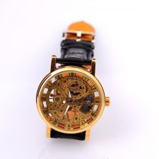 Механичен Мъжки Часовник WINNER GOLD, Skeleton, колекция UB Бутик, Код UB W011