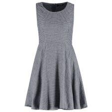 Дамска разкроена рокля VILA сиво-син цвят,Размер S, Код DD0067