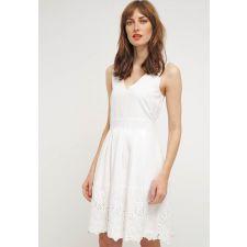 Кокетна дамска рокля VILA  с игрива брюкселска дантела в кремаво бял цвят, Размер S, Код DD504