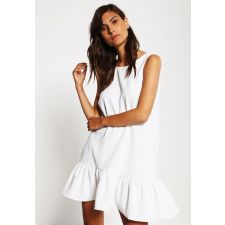 Дамска рокля VERO MODA с V-образен гръб, бял цвят, Размер M, Код DD0156