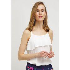Дамска  блуза VERO MODA с тънки презрамки в бяло, Размер XS-S,  Код BL0134
