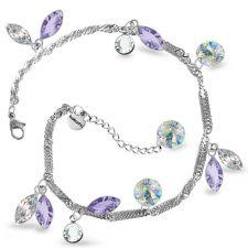 Гривна AMIKOS със SWAROVSKI® MARQUISE, Lavender- Лилав цвят, Код PR B639
