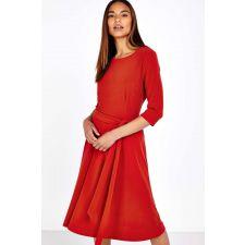 Дамска ежедневна рокля WALLIS в червено, Размер M, Код DD508