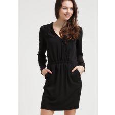 Елегантна  и удобна рокля YAS от плътна материя в черен цвят, Размер L, Код DD500