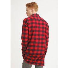 Ежедневна риза YOUR TURN в червено-черно свежо каре, Размер L, Код BL325
