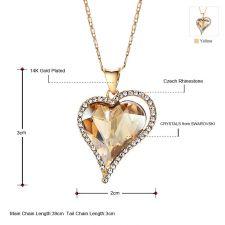 Колие, обеци и гривна NATURAL LOVE, Бижута ZYRDA Crystals from SWAROVSKI®, Код ZD S008B
