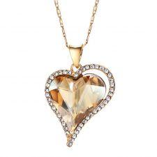 Колие NATURAL LOVE, ZYRDA Crystals from SWAROVSKI®, Код ZD N024