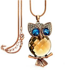 Колие NIGHT-BIRD, Crystals from SWAROVSKI®, Код ZD N035