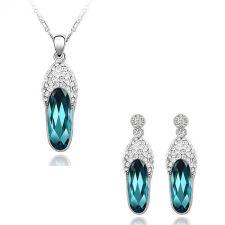 Колие и обеци CRYSTAL MYSTERY, Бижута GLORY Crystals from SWAROVSKI®, Код ZD S020