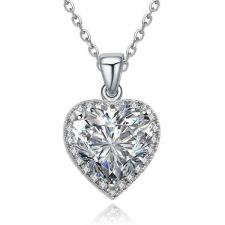 Луксозно Колие ТЕМИДА, с кристален цирконий, ZERGA BRAND, Код ZG N030