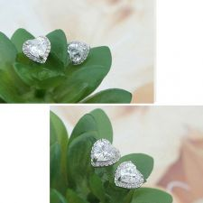 Бижута ТЕМИДА, с кристален цирконий  Колие, Обеци и пръстен Zerga Brand, ZGFNL S030B