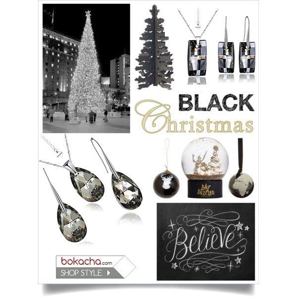 Christmas Silver Night*** SWAROVSKI®